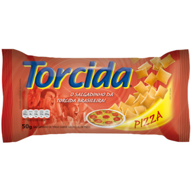 Salgadinho Torcida Jr. Pizza 50g