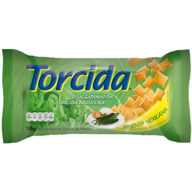 Salgadinho Torcida Jr. Pimenta Mexicana 50g