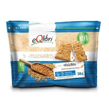 Biscoito Eqlibri Multigrãos Original 50g
