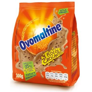 Achocolatado Ovomaltine Flocos Crocantes Pacote 300g