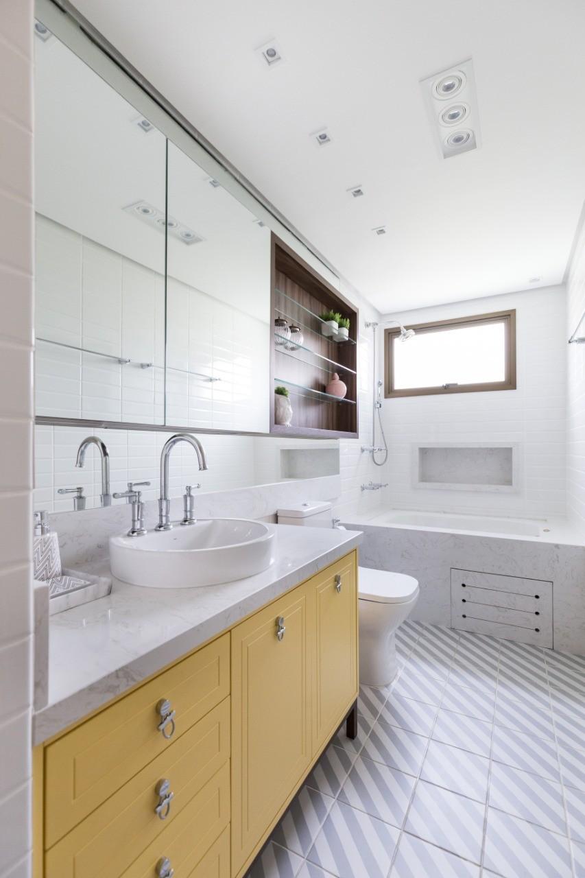 Apartamento CF - Banheiro-LUCIANA NUNES ARQUITETURA
