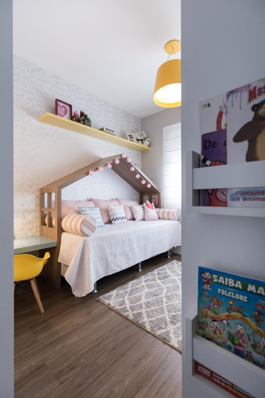 Apartamento LT - Quarto Infantil-LUCIANA NUNES ARQUITETURA