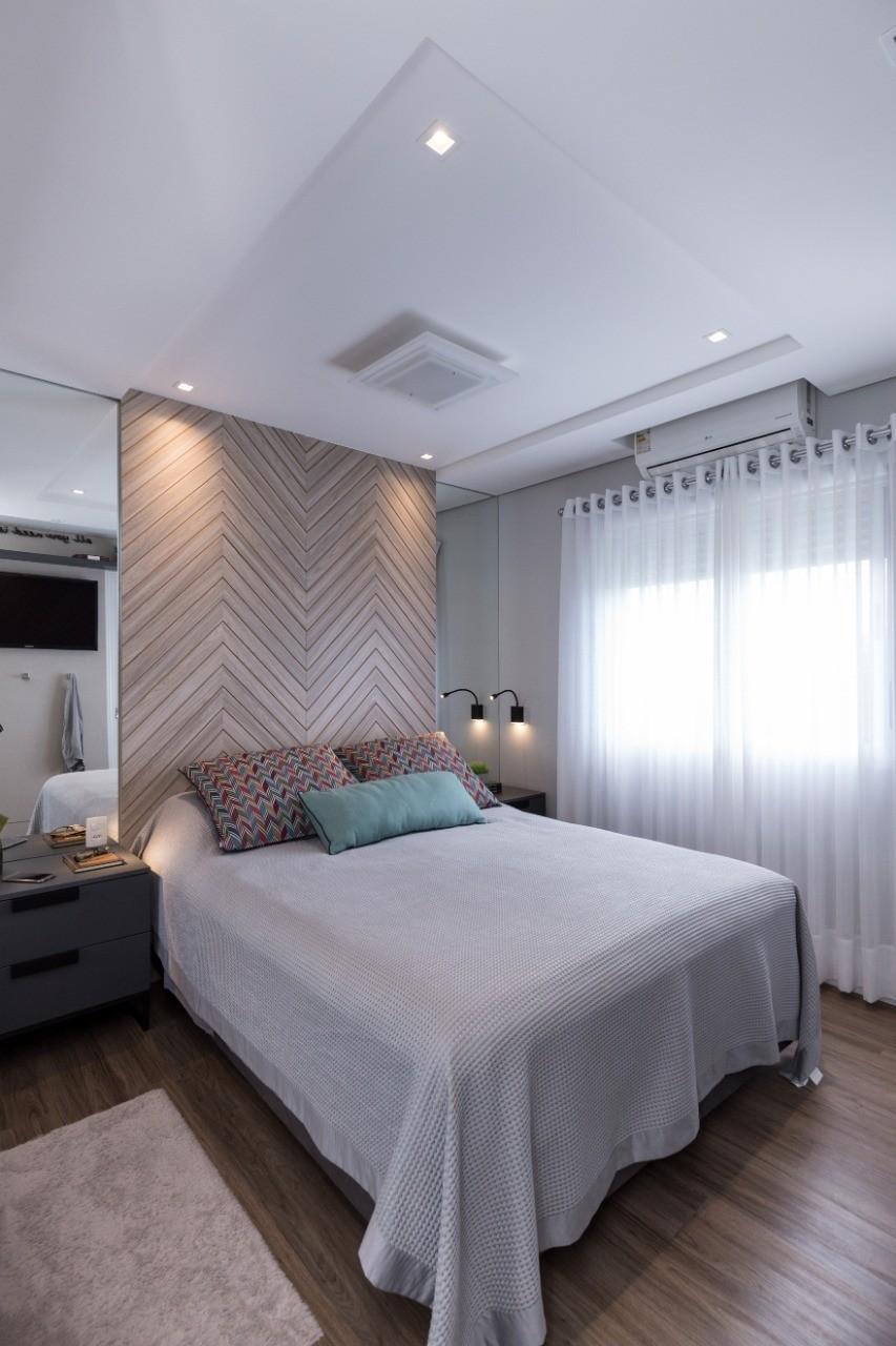 Apartamento LT - Quarto-LUCIANA NUNES ARQUITETURA