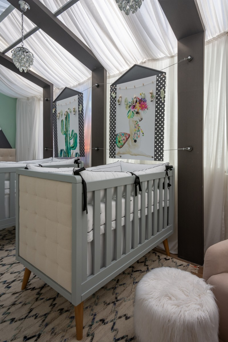 QUARTOS - Quarto de bebê gêmeos-ANDREA BENTO