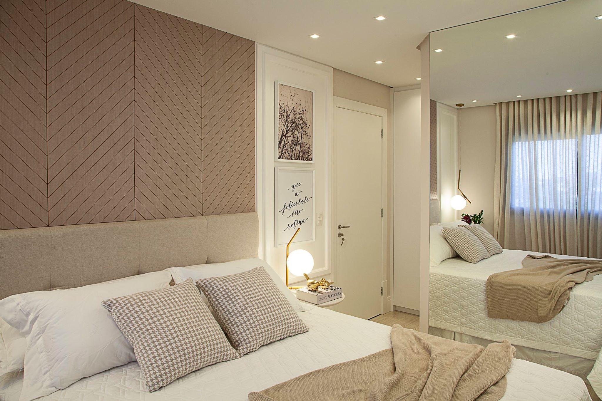 Apartamento RA | Dormitório Casal-DAIANE TREVISAN ARQUITETURA