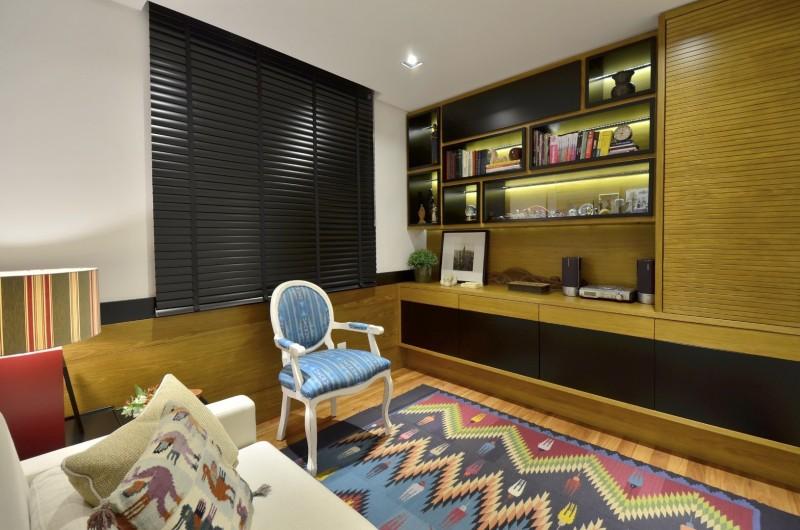 Estar íntimo - Apartamento Zona Sul-STUDIO MÁRCIO VERZA