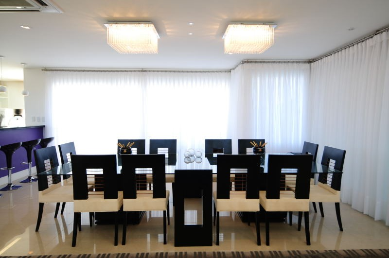 Residência Litoral - Xangri-la   - Sala de Jantar-MARCELO JOHN ARQUITETURA E INTERIORES