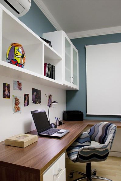 Apartamento  Bela Vista 01 - Escritório-ANGELA OGNIBENI ARQUITETURA