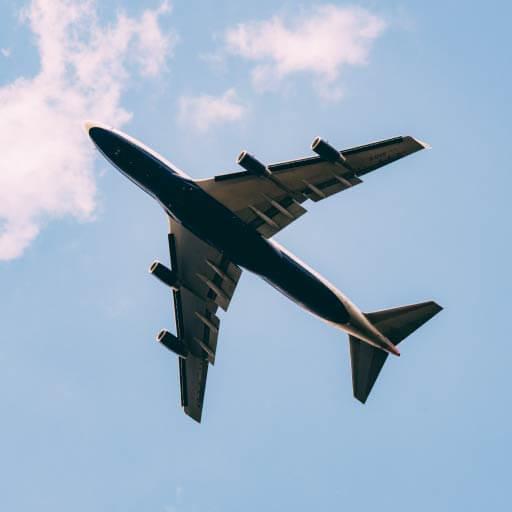 Medo de perder o voo