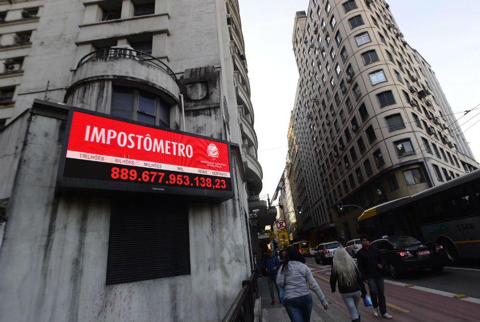 Impostômetro da ACSP atinge R$ 900 bilhões nesta quinta-feira às 8h10