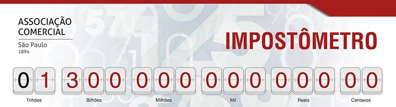 Hoje, às 13h30 população brasileira vai pagar R$1,3 trilhão em tributo