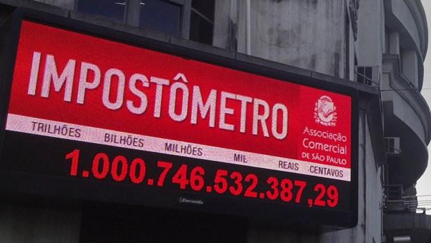 Impostômetro da ACSP atinge R$ 1 trilhão nesta segunda-feira às 7h50