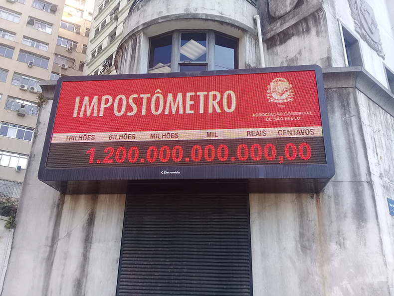 Neste ano, contribuintes de MS pagaram R$ 1,2 bilhão a mais de imposto