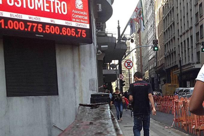 Impostômetro atinge a marca de R$ 800 bilhões