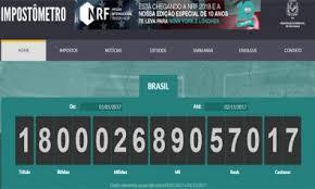 Impostômetro chega a R$ 1,8 trilhão hoje