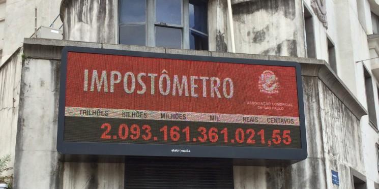 Impostômetro da ACSP registra R$ 2 trilhões