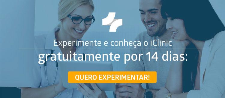 Conheça e experimente o iClinic
