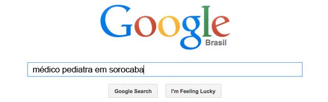 busca no google médicos em sorocaba