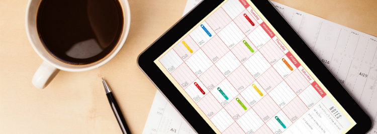 divulgar clinica na internet calendario