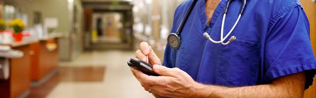 dados médicos no celular