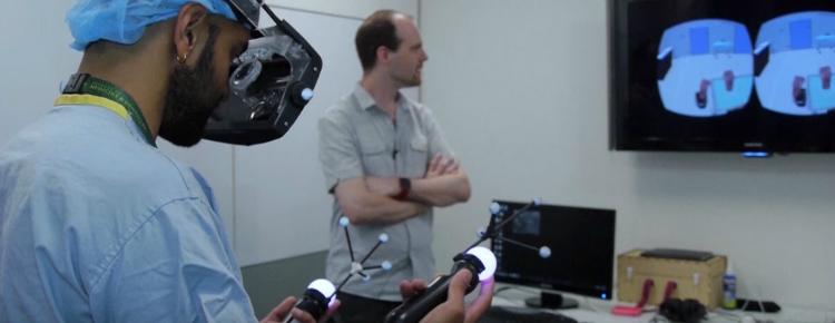 realidade virtual na medicina cirurgia
