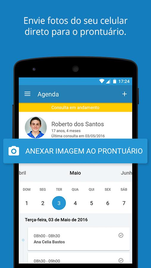 novo aplicativo iclinic para android