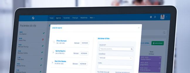 lista de espera digital de pacientes