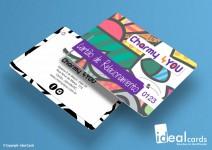 Cartão Relacionamento - PVC Laminado - 0,76mm - 4x4 Cores