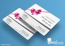 Cartão Vale Presente - PVC Laminado - 0,76mm - 4x0 Cores