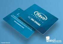 Cartão de Academia - PVC Laminado - 0,76mm - Laminação Fosca