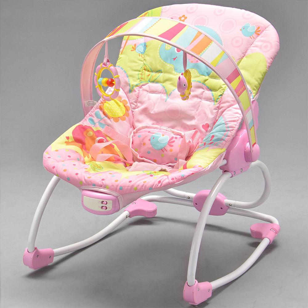 eeff0b212 Cadeira de Descanso Musical Rosa - 6903 - Alô Bebê