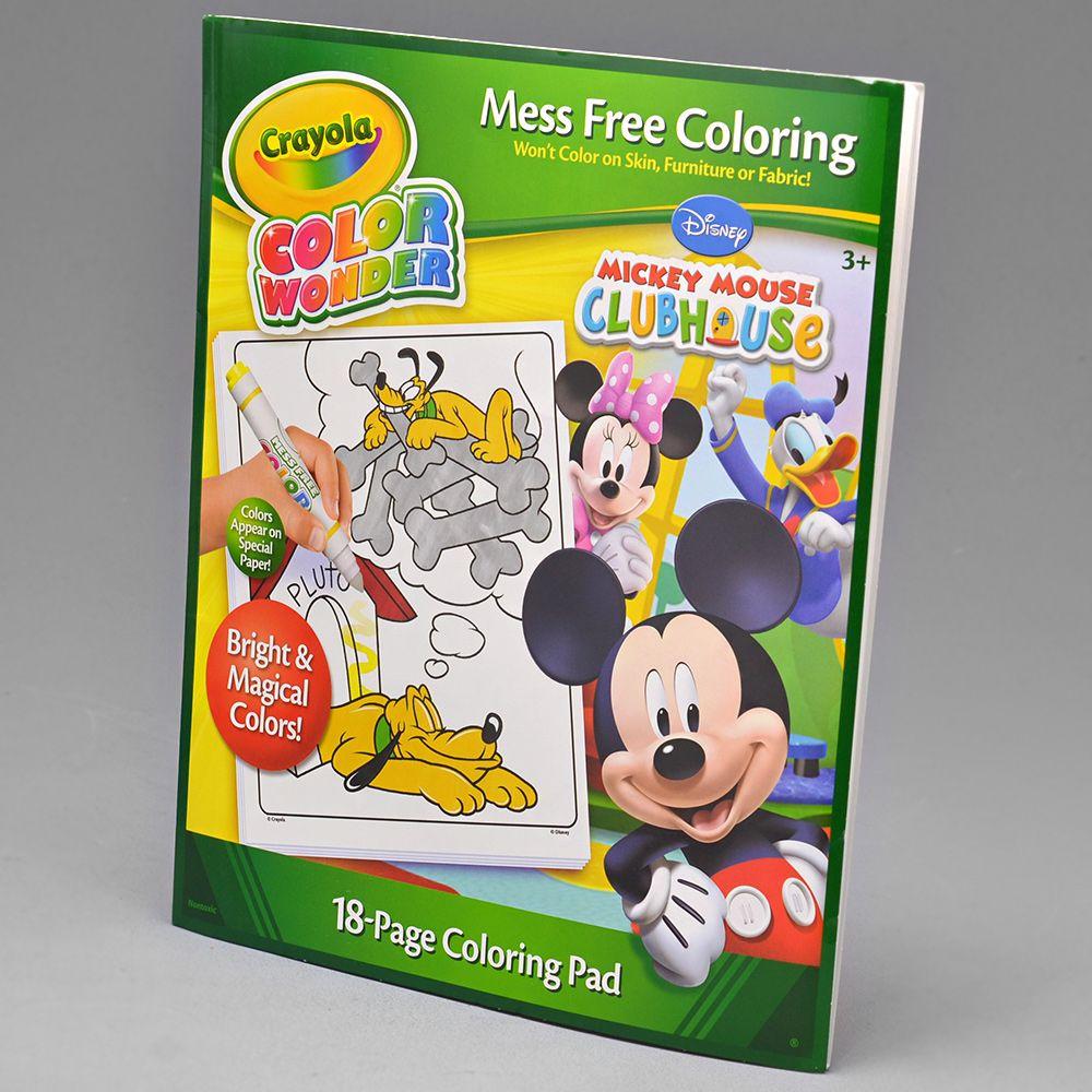 Livro Para Colorir Mickey 751826 Alo Bebe