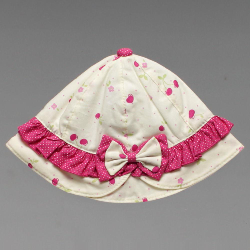 Chapéu Bebê Cereja Tam. P ao G - 2063 - Alô Bebê 495cb83e884