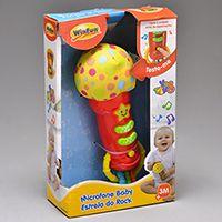 22d313bd9b Microfone Baby Estrela do Rock - 0722-NL