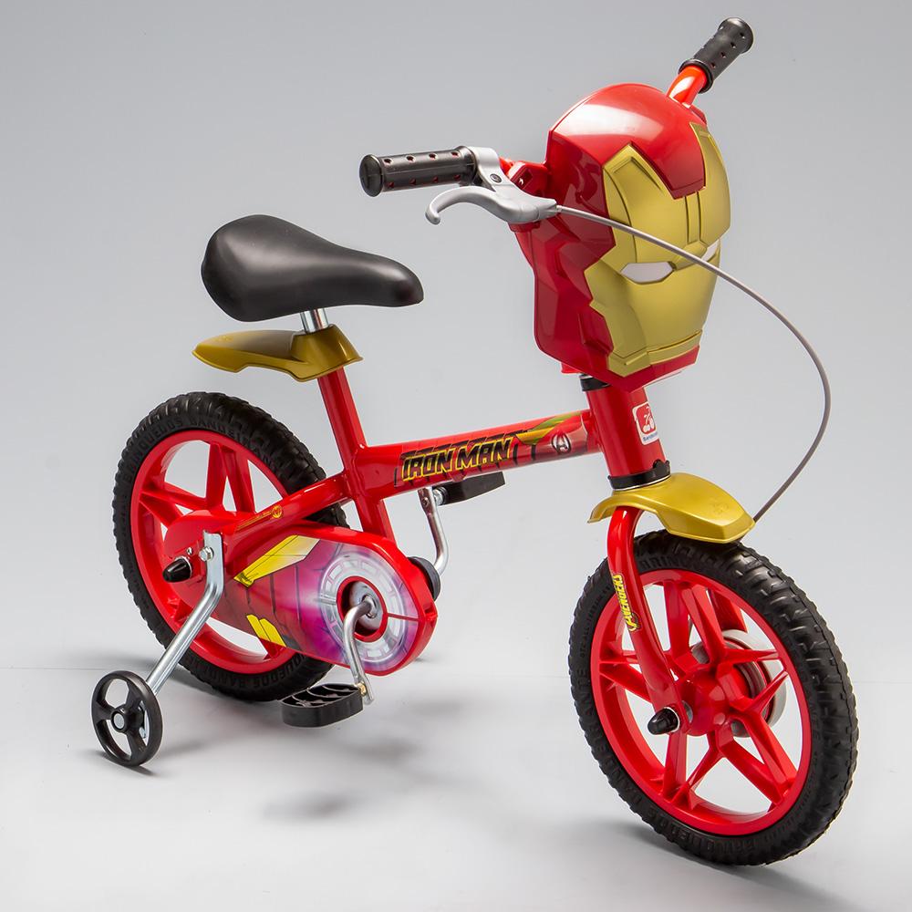 7e213f1a9 Bicicleta Homem de Ferro Aro 12 - 3020 - Alô Bebê