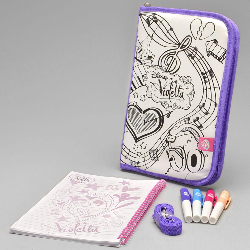 Bolsa Para Colorir Violetta 86109 Alo Bebe