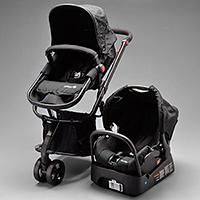 e106fd72bdb08 Carrinho com Bebê Conforto Mobi Travel System - Full Black. Safety 1st