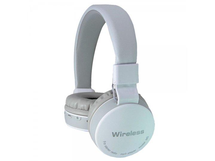Auriculares Inalámbricos con Bluetooth MS-881 - Blanco al mejor precio solo en LOI