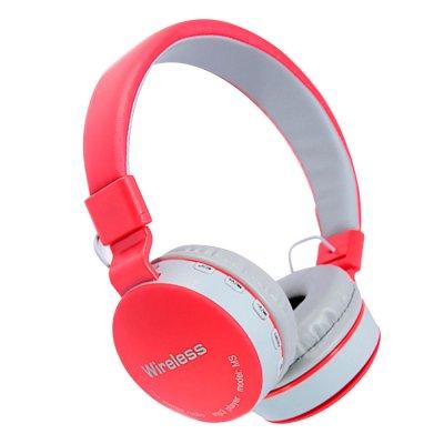 Auriculares Inalámbricos con Bluetooth MS-881 - Rojo al mejor precio solo en LOI