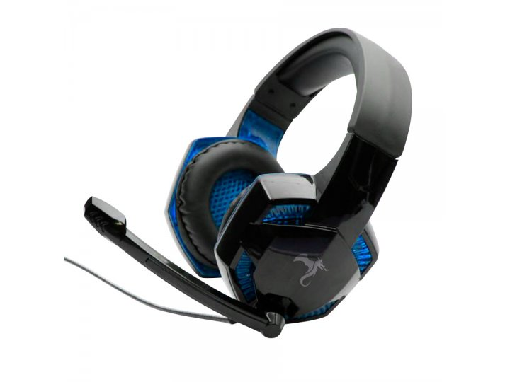 Auriculares Gamer Kolke Commander KGA-088 Azul al mejor precio solo en LOI