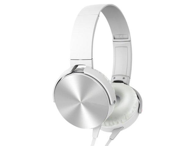 Auriculares Extra Bass con micrófono y cable1.2m Blanco al mejor precio solo en loi