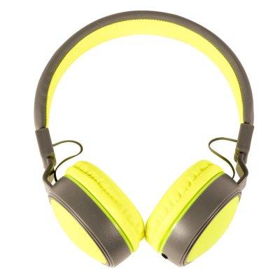 Auriculares Plegables ExtraBass cable plano Amarillo al mejor precio solo en LOI