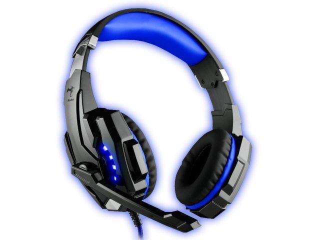 Auriculares Gamer Kolke Cobra 7.1 USB Azul al mejor precio solo en LOI