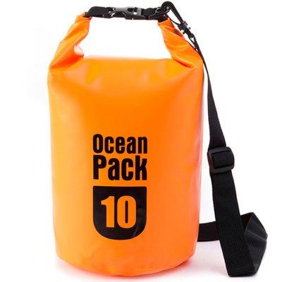 Bolso impermeable Ocean Pack de 10 litros - Naranja al mejor precio solo en loi