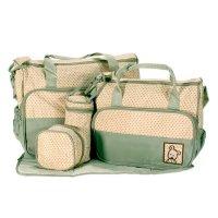 Set de bolsos maternales - 5 PIEZAS Verde al mejor precio solo en loi