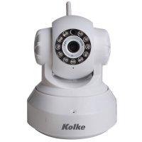 Cámara IP Wifi Kolke con visión nocturna Blanca al mejor precio solo en loi