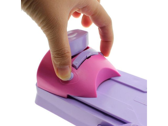 Decorador de uñas para utilizar con esmaltes