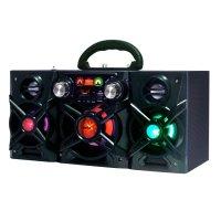 Equipo de audio Karaoke Go! con micrófono Negro al mejor precio solo en loi