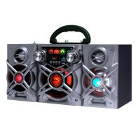 Equipo de audio Karaoke Go! con micrófono Gris al mejor precio solo en loi