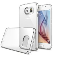 Estuche Protector TPU Transparente para Galaxy S6